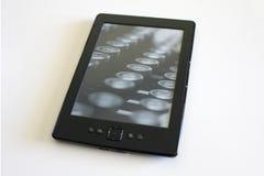 Black ebook reader or tablet Royalty Free Stock Photo
