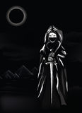 Black egypt vector royalty free illustration