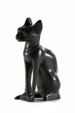 Black Egyptian cat Stock Photos