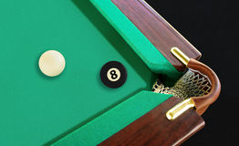 Black eight ball Stock Photography