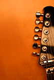 Black electric guitar - serie (Detail) Royalty Free Stock Photos