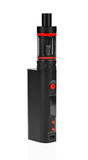 Black electronic cigarette Royalty Free Stock Images