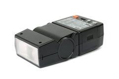 Black electronic flash Stock Photo