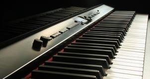Black Electronic Keyboard Royalty Free Stock Images
