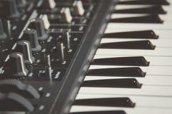 Black Electronic Keyboard Stock Photos