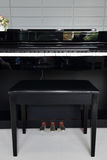 A black electronic piano Royalty Free Stock Images