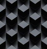 Seamless metallic 3d background Royalty Free Stock Photos