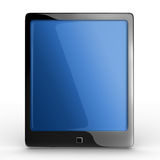 Black elegant tablet touch pad Royalty Free Stock Photo
