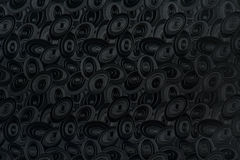 Black elliptic background Stock Image