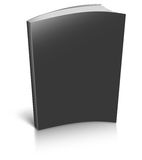 Black empty book template Royalty Free Stock Photos