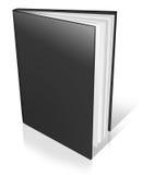Black empty book template Stock Image