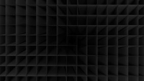 Black Empty Low Poly Geometric Grid Background Royalty Free Stock Image