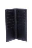 Black empty wallet Stock Images