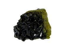 Isolated Epidote Stock Images