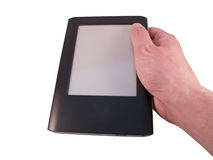 Black ereader Royalty Free Stock Images