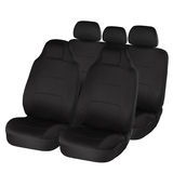 Black ergonomic car seats Royalty Free Stock Photos