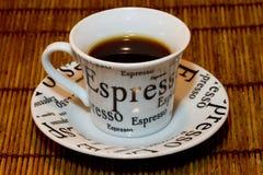 Black Espresso Stock Photography