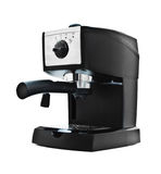 Black espresso machine royalty free stock images