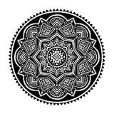 Black ethnic ornament Royalty Free Stock Photo