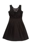 A black evening dress Royalty Free Stock Photography