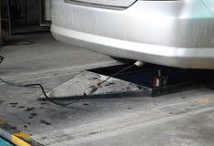 Black exhaust smoke car Royalty Free Stock Image