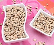 Black eye beans Royalty Free Stock Photos
