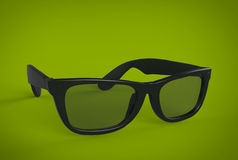 Black Eye Glasses Royalty Free Stock Image
