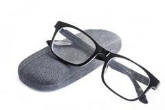 Black Eye Glasses Stock Images