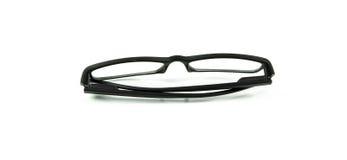 Black Eye Glasses Isolated Stock Image