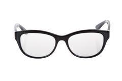 Black Eye Glasses, Isolated. Black Eye Glasses Isolated on White royalty free stock photos
