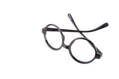 Black Eye Glasses Stock Image