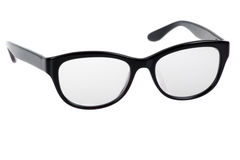 Black Eye Glasses Stock Images