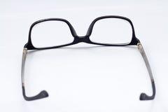 Black Eye Glasses. Isolated on White background Royalty Free Stock Image