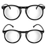 Eye glasses isolated Stock Images
