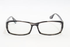 Black Eye Glasses Isolated on White background Stock Images