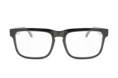 Black eye glasses Stock Photo