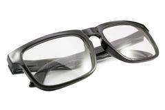 Black eye glasses Royalty Free Stock Photo