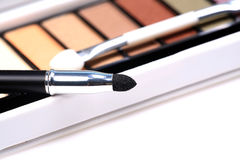 Black eye liner. Concept pic of black liner looking beautiful stock images