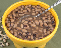 Black eye peas Royalty Free Stock Images