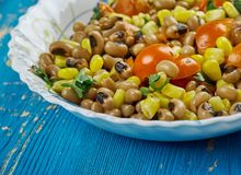 Mexican  Black-Eyed Pea Dip. Black-Eyed Pea Dip , Mexican food close up Royalty Free Stock Images
