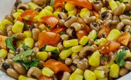 Mexican  Black-Eyed Pea Dip. Black-Eyed Pea Dip , Mexican food close up Royalty Free Stock Image