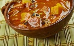 Black-Eyed Pea Stew. With Sausage Stock Image