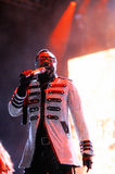 Black Eyed Peas (band), performs at Estadi Cornella-el Prat Royalty Free Stock Photos