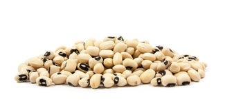 Black eyed peas beans  isolated Royalty Free Stock Images