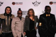 Black Eyed Peas, Black Eyed Peas, Stacy Ferguson, tabù, Black Eyed Peas, io sono. I. Am. I. Am., will.i.am Fotografie Stock