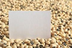 Black Eyed Peas crudo fotos de archivo libres de regalías