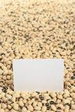 Black Eyed Peas crudo fotografía de archivo