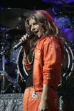 Black Eyed Peas esegue di concerto fotografie stock