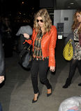 Black Eyed Peas Fergie at LAX airport Stock Photos