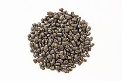 Black eyed peas in isolate on white. Stock Photography